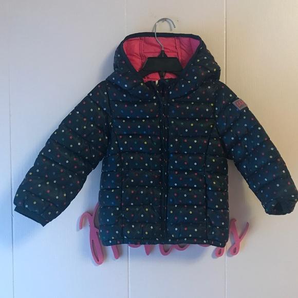 9a06f6c2e GAP Jackets & Coats | Baby Toddler Girls Primaloft Navy Jacket 4 ...